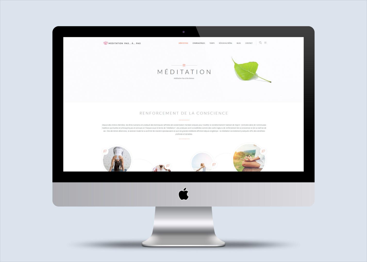 Site web Meditation Pas à Pas
