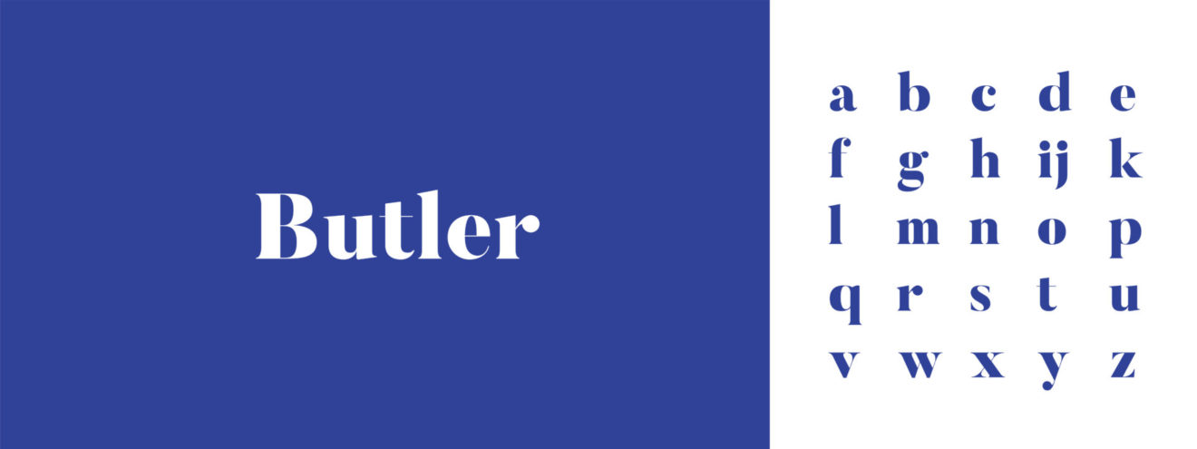 Typographie-Butler