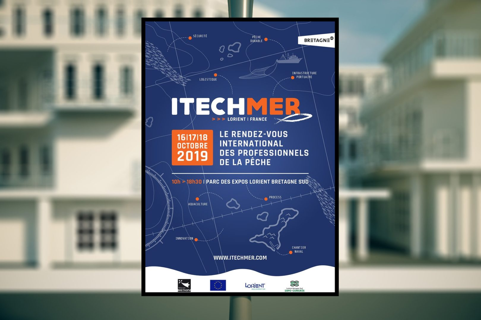 Affiche salon ItechMer