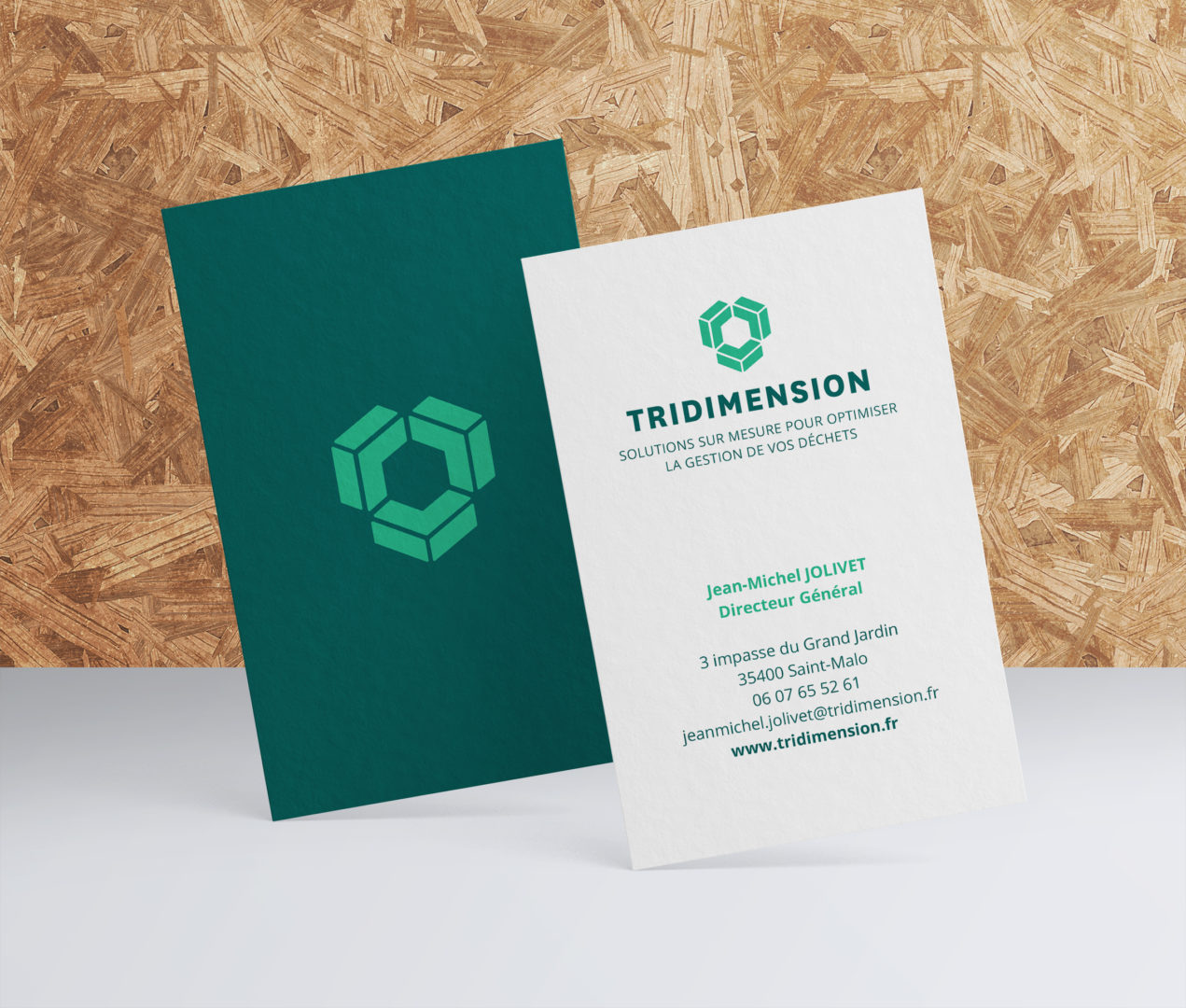 Carte de visite Tridimension